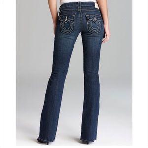 True Religion Becky bootcut dark blue jeans - 31